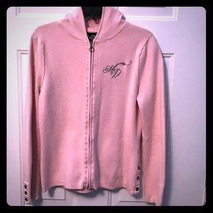 Harley Davidson Pink Zip Up Jacket!